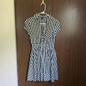 H&M Divided Plaid Dress